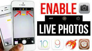 Enable Live Photos iPhone 4s, 5, 5c, 5s ...