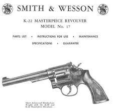 smith wesson model 17 k 22 revolver