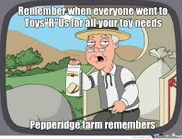 """Forgoten Toys""""r""""us by recyclebin - Meme Center via Relatably.com"""