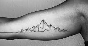 Tetování Která Vznikla Jedním Tahem Dokazují že V Jednoduchosti