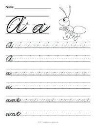 Lowercase Cursive Alphabet Worksheet Free Printable Cursive Letters Cursive Letters Worksheet Awesome
