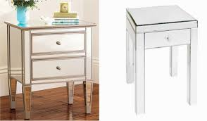 fabulous mirrored furniture. Fabulous Tall Bedside Tables Nightstands Nightstand Target Mirrored Furniture With Drawers For Chic Home Ideas Ikea Couches Glass Accent Cheap Haworth Jpg M