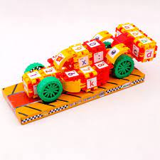 Bộ Đồ Chơi Xếp Hình Super Car Sáng Tạo Sato