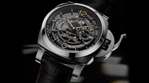 l astronomo luminor 1950 tourbillon moon phases equation of time gmt