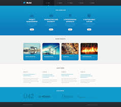 web template design software. Website Template 47215 Civil Engineering Architecture Custom