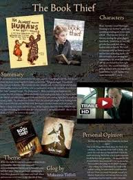 best language arts images novels literature the book thief is a novel by n author markus zusak glogster glogpedia