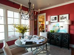 Dining Room Pictures From HGTV Smart Home 40 HGTV Smart Home Cool Red Dining Rooms Collection