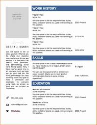 Resume Templates For Word 2007 24 Awesome Resume Template Word 24 Resume Sample Template And 5