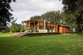 Environmental Homes Design Ideas Great Barrier Island Sustainable House Surrounded By Nature