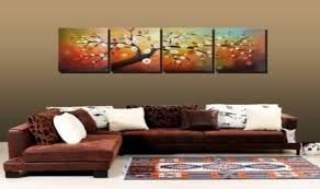 >wall art ideas design hand painted landscape 4 piece wall art  wall art ideas design hand painted landscape 4 piece wall art canvas cherry blossom picture white red large insporation best 4 piece wall art canvas 4