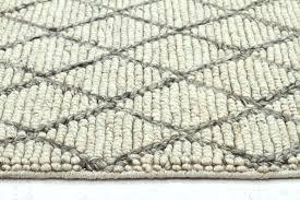 vaasa grey felted wool rug luxury madras blue ivory