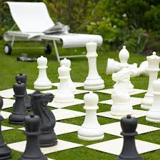 Small Picture Garden with giant chess set Modern garden design ideas Garden