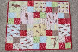 Sock Monkey Baby Quilt {My Sister's Quilts #7 & #8} - Skirt Fixation & Skirt Fixation on the perfect baby quilt: a sock monkey quilt! Adamdwight.com