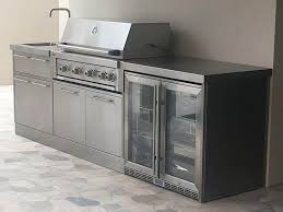 stainless steel outdoor kitchens adelaide outdoor kitchens tall kitchen trash bags