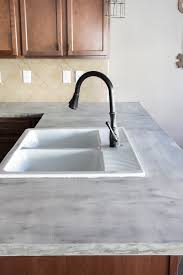 diy feather finish concrete countertops bless er house concrete countertop sealers