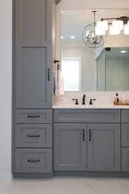 Master Bathroom With Steam Shower Kbf Design Gallery Guest Bathroom Remodel Grey Bathroom Vanity Small Bathroom Remodel