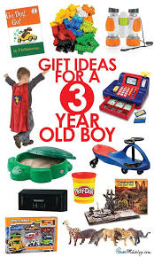 Gift ideas for 3-year-old boys