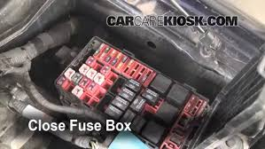 blown fuse check 1997 2004 ford f 150 2003 ford f 150 lariat 4 6 secure the cover and test component