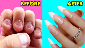 how to grow long strong nails fast at