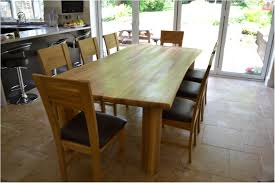 spectacular wood dining table 8 chairs chunky solid oak 8 seater dining set 8 appealing suggestions