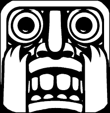 Small Picture Coloring Pages Temple Run Drawing