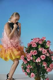 Vivetta Designer Vivetta Alshain Silk Feather Dress Designer Dresses