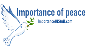 importance of peace essay and speech importance of peace