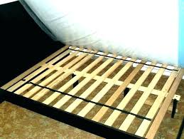 Bed Frame Wood Slats Queen Bed Frame With Slats Regard To Wood ...