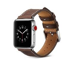 bakeey new leather replacement watch band strap for smart watch apple watch1 2