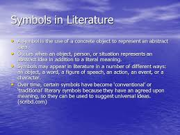 symbols vs motifs symbols in literature a symbol is the use of a  2 symbols in literature