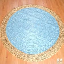 round blue rug blue circle rug ikea blue persian rug runner