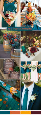 Ten Prettiest Shades of Blue for 2017 Wedding Color Ideas. Teal Fall  WeddingWedding Color Schemes ...