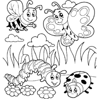 Small Picture Best Bug Coloring Pages Photos Amazing Printable Coloring Pages