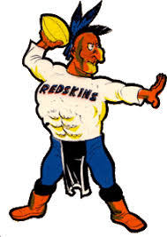 Washington Redskins alternate logo 1960-65 | Redskins | Pinterest ...