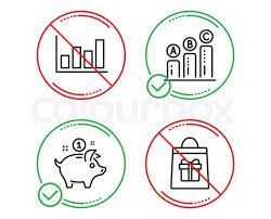 Do Or Stop Report Diagram Graph Stock Vector Colourbox