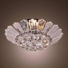 living exquisite flush mount chandelier
