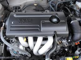 2000 Toyota Corolla CE 1.8 Liter DOHC 16-Valve 4 Cylinder Engine ...