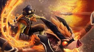 artstation dota 2 rider of the scorching vesper batrider set