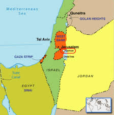 Image result for map of where the dead sea scrolls were found