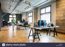 Entrepreneur Walking In Creative Office Space Stock Photo 284176086
