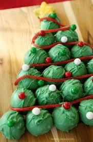 christmas oreo balls.  Christmas Christmas Tree Cookies OreoCookieBalls Intended Oreo Balls