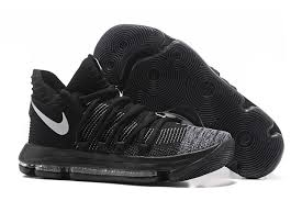 nike basketball shoes 2017 kd. 2017 nike kd 10 black white grey basketball shoes cheap sale kd