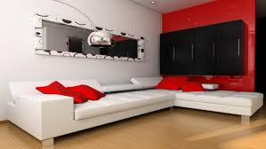 Unique Living Room Design Ideas With Red Carpet Nicelivingroom In Red Black Living Room Decorating Ideas