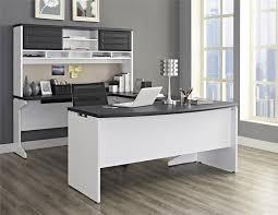 com ameriwood home pursuit executive desk gray kitchen dining