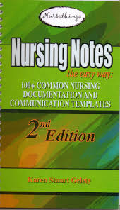 Nursing Notes The Easy Way 100 Common Nursing