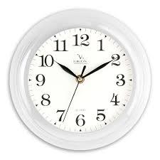 <b>Часы настенные</b> d23 см Белые