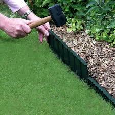 black garden edging master mark plastics 95340 terrace board foot landscape coil 5 inch by 40 black garden edging