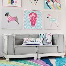 cool couches for teenagers. PB Teen Cushy Loveseat Set, Furlicious (2 Corners) At Pottery Barn - Sofas Couches Cool For Teenagers
