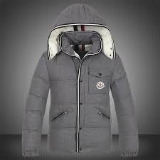 Moncler Branson Classic Mens Down Jackets Grey Short On Sale Outlet New  Release