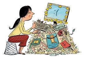 messy desk clipart. Brilliant Desk To Messy Desk Clipart